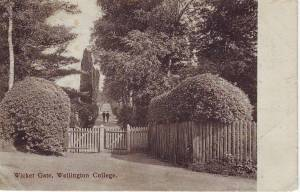 Wicket Gate, Wellington College