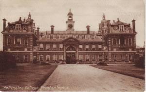 Wellington College, Front Entrance