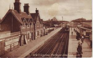"""Wellington College Station"". Frith no. 69929"