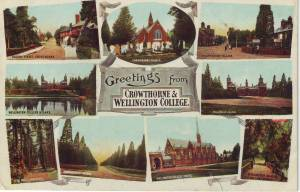 Greetings From Crowthorne & Wellington College: Frith