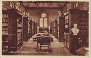Wellington College. Boys' Library: 5523