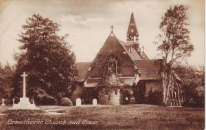 Crowthorne Church and Cross