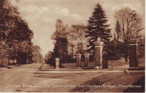 Dukes Ride and the West Gates, Wellington College, Crowthorne