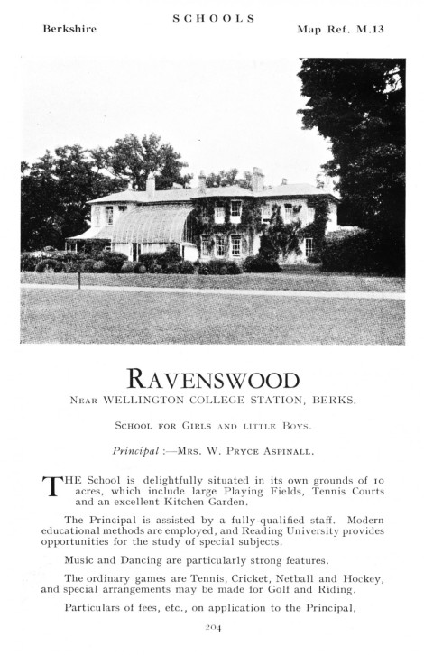 Ravenswood ad
